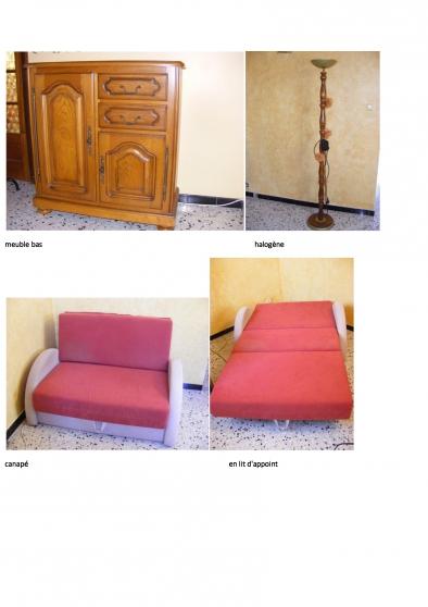 vend divers meubles bois - Photo 3