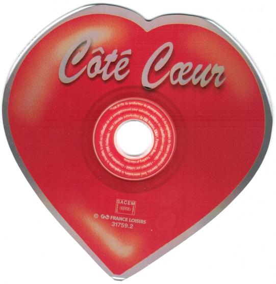 cd collection  en forme de cœur - Annonce gratuite marche.fr