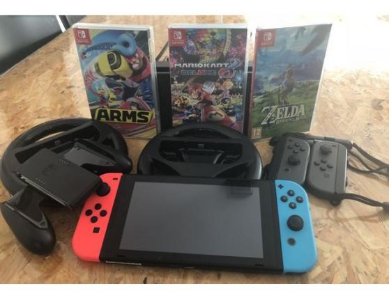 Nintendo switch complète