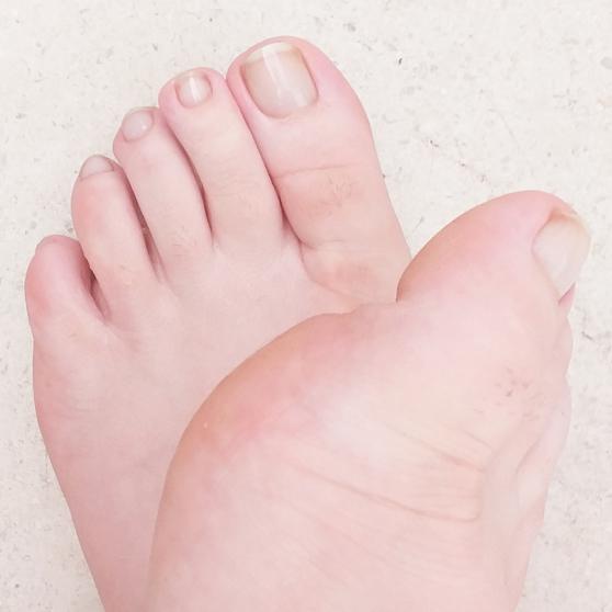 Mes pieds personnalisés... pour vous!