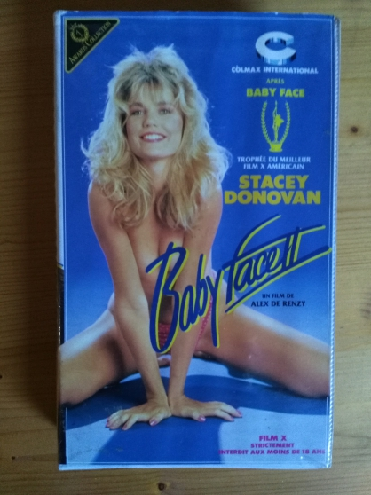 VHS rare film Baby face 2