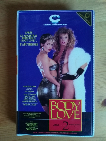 Vends VHS rare film Body love 2