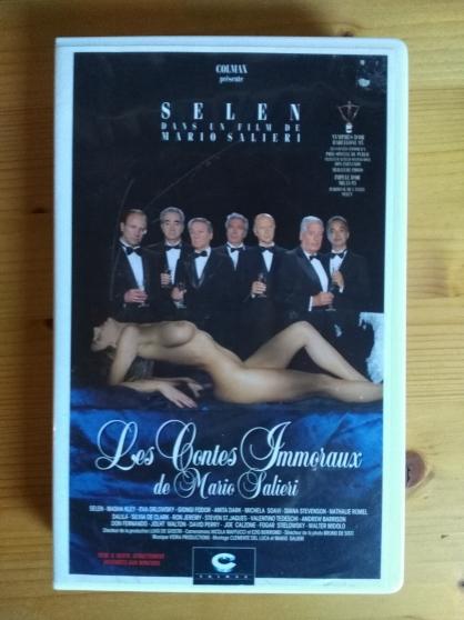 Vends VHS rare film Les contes immoraux