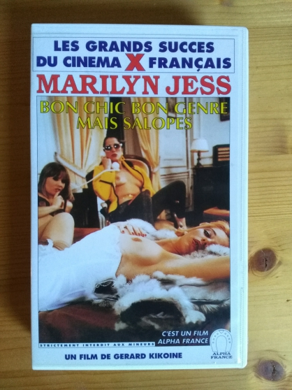 Vends VHS rare film Bon chic bon genre .