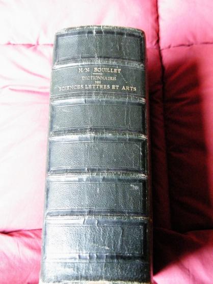 Annonce occasion, vente ou achat 'dictionnaire des sciences 1862'