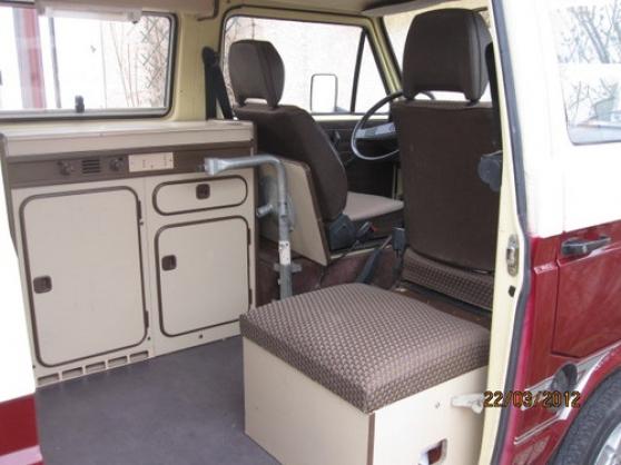 camping car vw transporter Westfalia t3