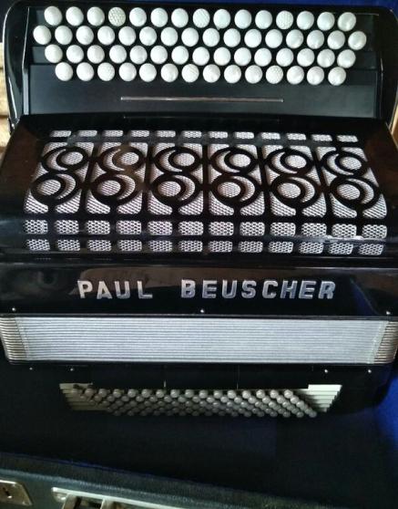 Annonce occasion, vente ou achat 'Accordéon chromatique PAUL BEUSCHER'