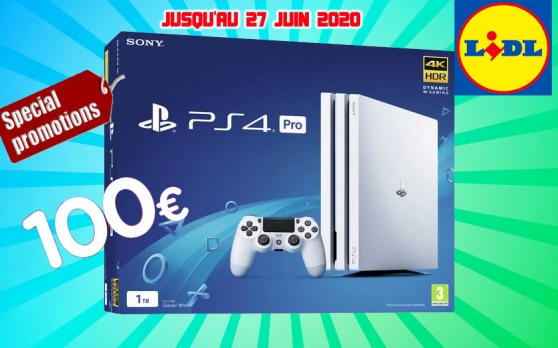 Annonce occasion, vente ou achat 'Sony PlayStation 4 Pro 1 To, 1 Manette'