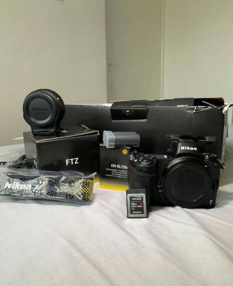 Annonce occasion, vente ou achat 'Nikon Z6 + accessoires complets'