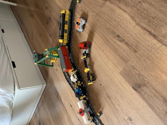 train de marchandise lego (7939)