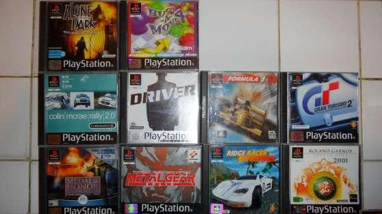 Annonce occasion, vente ou achat 'Jeux PS1 complets très bon état'