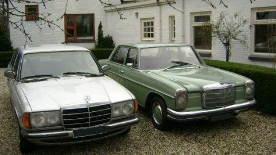 cherche Mercedes W114 ou W115 de 1970-74