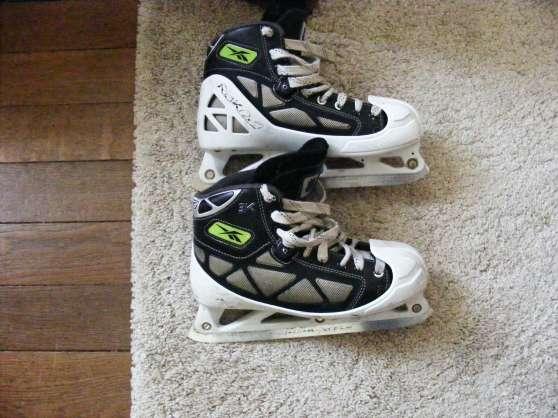 Annonce occasion, vente ou achat 'patin de gardien de hockey sur glace'