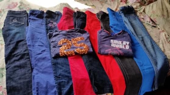 lots jeans fille 12-14 ans