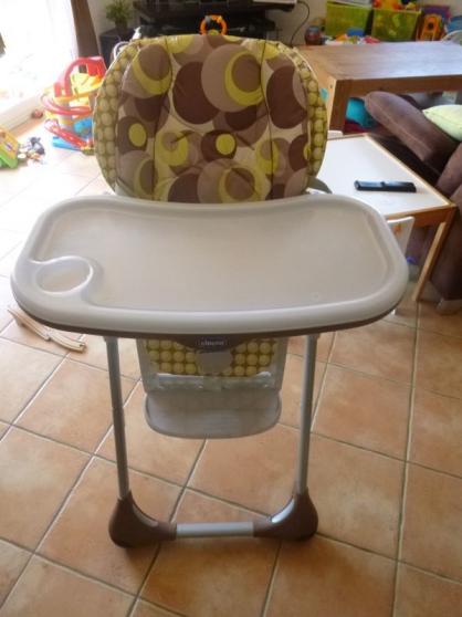 Annonce occasion, vente ou achat 'Chaise Haute bébé POLLY'