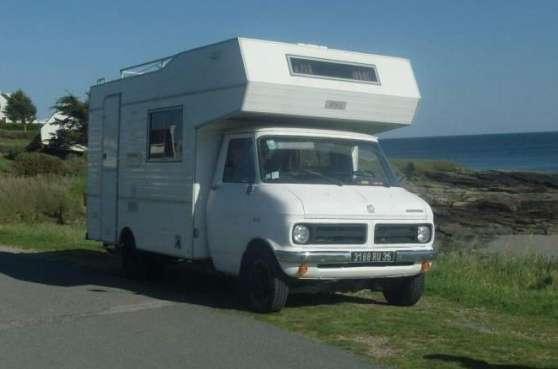 camping car bedford cf350 annonay caravanes camping car camping car annonay reference. Black Bedroom Furniture Sets. Home Design Ideas