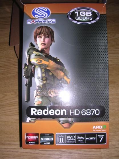 Annonce occasion, vente ou achat 'Radeon HD6870'