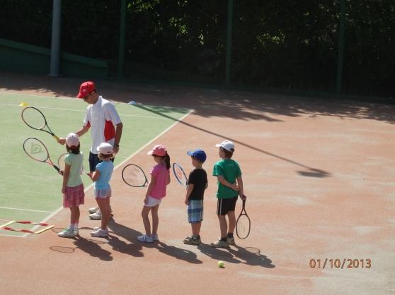 Leçons de tennis