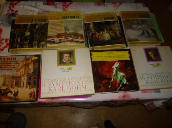 vinyles grands compositeurs et autres
