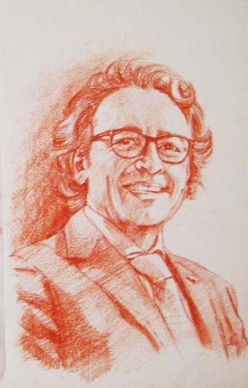 Portrait de votre photo dessin au crayon