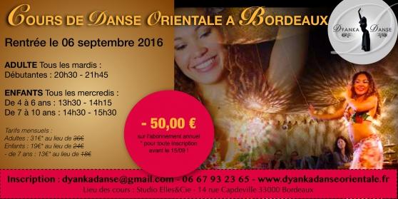 Annonce occasion, vente ou achat 'Cours de danse orientale'