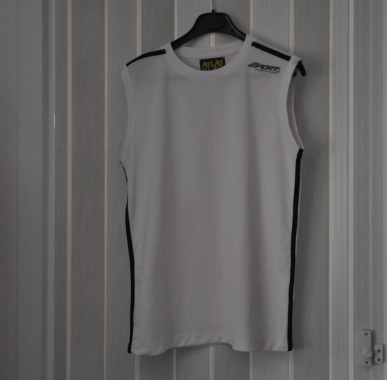 Tee shirt Homme Blanc Taille M