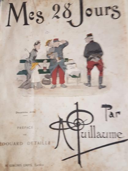 livre ancien 1864 7 album relié