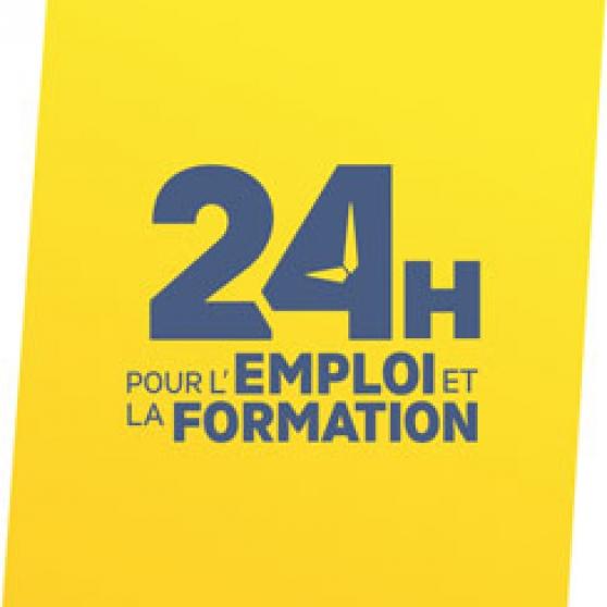 Petite Annonce : 24 heures pour l\'emploi et la formation - Plus de 30 entreprises et centres de formation seront rassemblés à