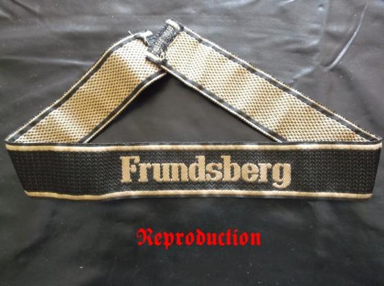 ww2 bande de bras frundsberg - Annonce gratuite marche.fr