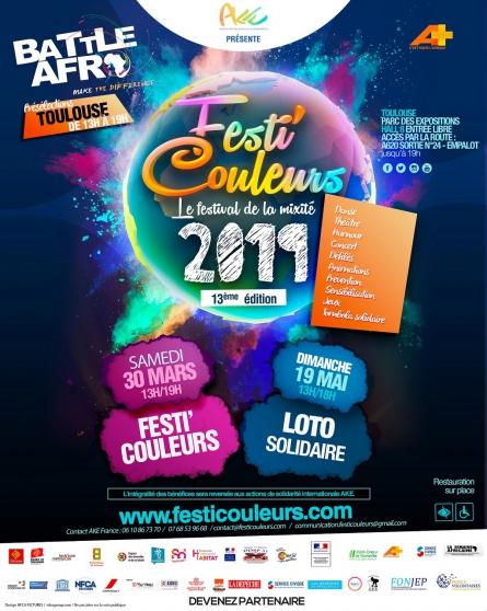 invitation au festi'couleurs - toulouse - Annonce gratuite marche.fr
