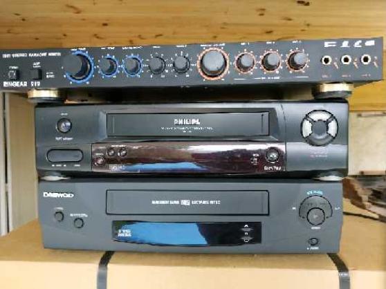 2 magnetoscopes + mixage karaoke - Annonce gratuite marche.fr