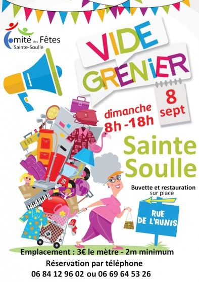 Annonce occasion, vente ou achat 'Vide Grenier Sainte Soulle'
