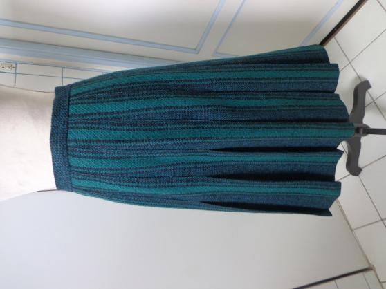 Jupe en pure laine vierge d'Ecosse