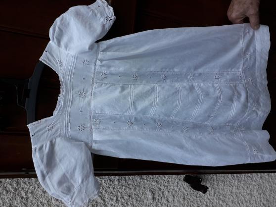 Robe bébé vintage artisanale