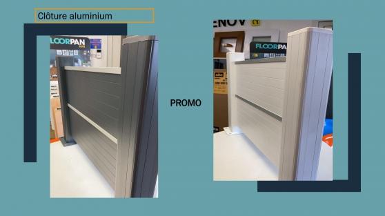 Annonce occasion, vente ou achat 'Clôture en aluminium'