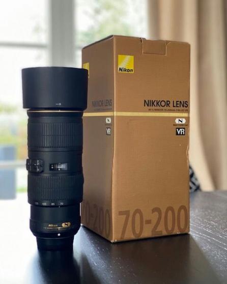 Annonce occasion, vente ou achat 'Nikon 70-200 f4'