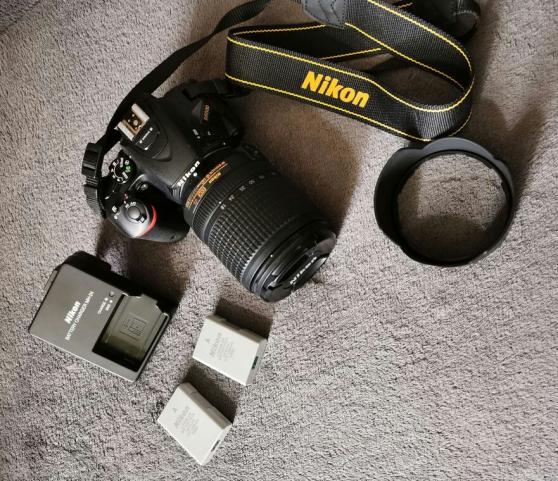 Annonce occasion, vente ou achat 'Appareil photo Nikon D5500'