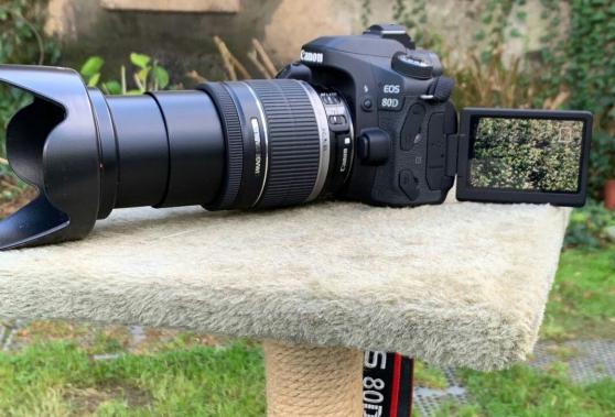 Annonce occasion, vente ou achat 'Reflex Canon 80D'