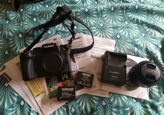 Annonce occasion, vente ou achat 'Appareil photo hybride LUMIX G - Panason'