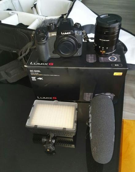 Annonce occasion, vente ou achat 'Panasonic Lumix G DC-GH5L - appareil pho'