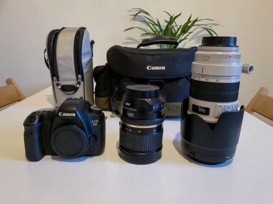 Accessoires Objectifs Canon 6D 2Lenses