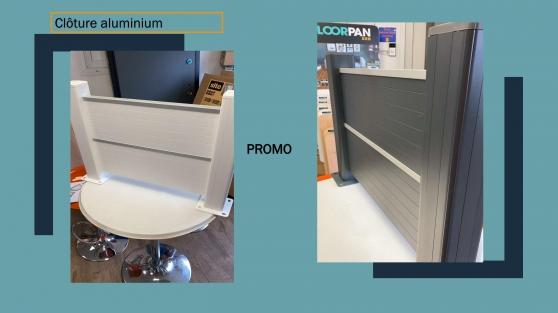 Annonce occasion, vente ou achat 'Clôture en aluminium promo'