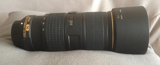 Objectif Nikon type AF-S NIKKOR 70-200mm