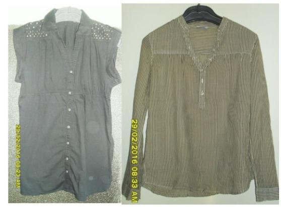Annonce occasion, vente ou achat '2 Chemises PIMKIE T38'