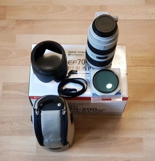 Objectif Canon EF 70-200mm f/2.8L IS II