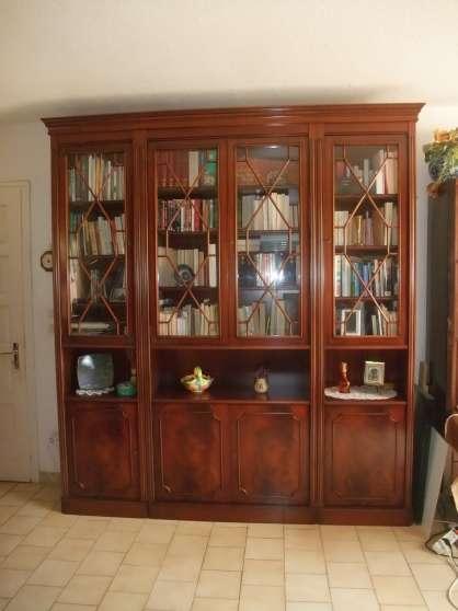 belle grande biblioth que anglaise meubles d coration