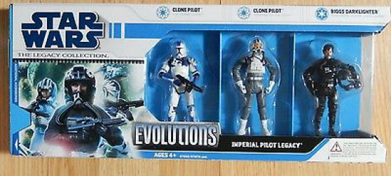 Pack EVOLUTIONS REBEL PILOT LEGACY Neuf.