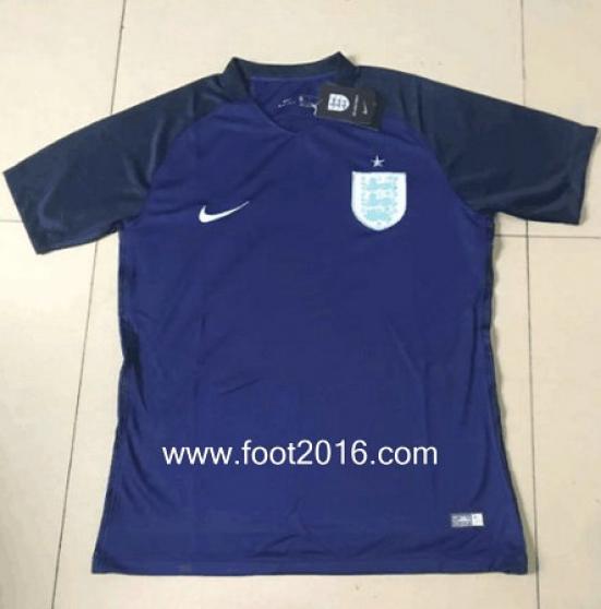 maillot extérieur de Angleterre 2017