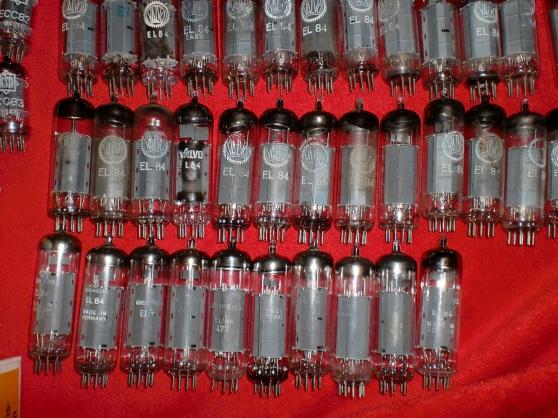 Lot de 207 Tubes ECC83/ECC82/EL34/ECC801 - Photo 3
