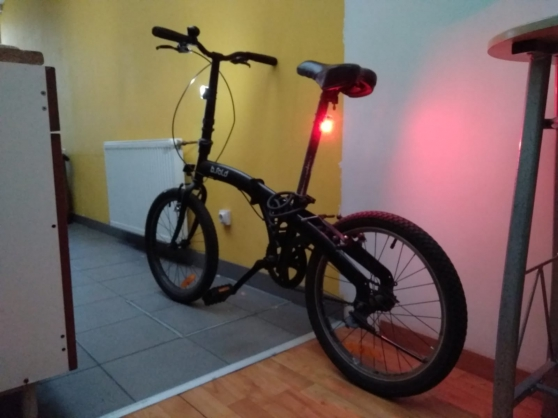 Vélo pliant en très bon état (+ extras)